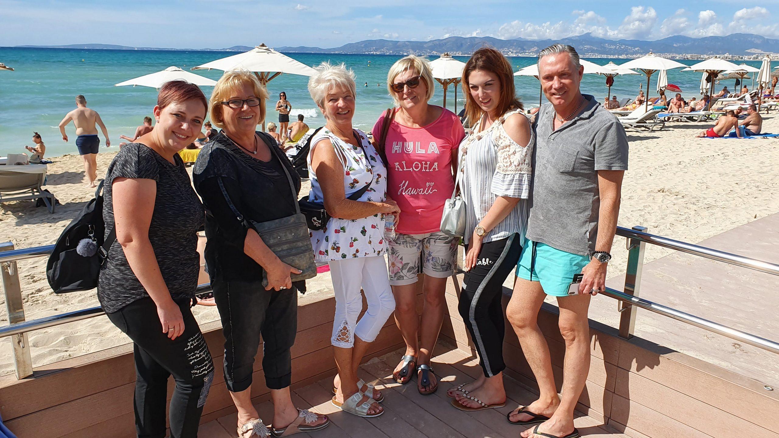 Betriebsausflug 2019 - Mallorca am Strand
