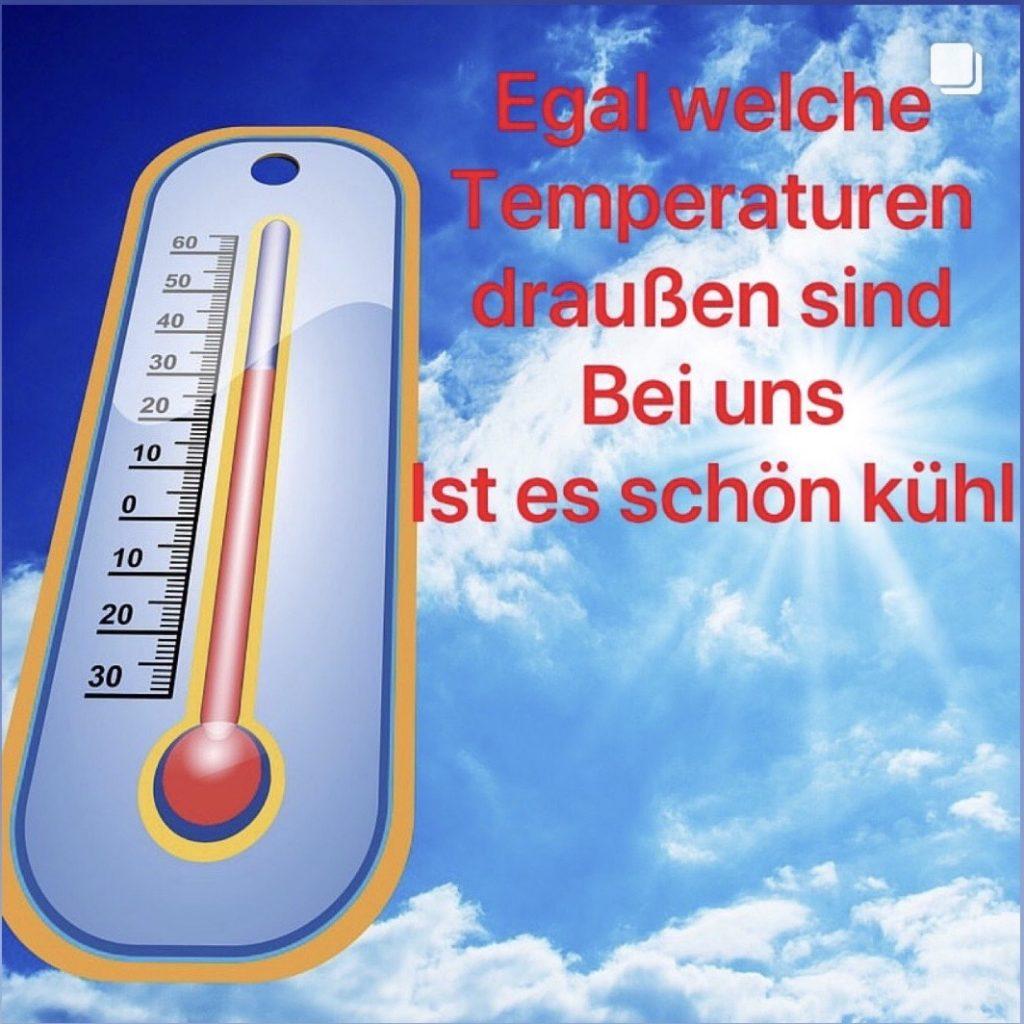 Es ist heiß...
