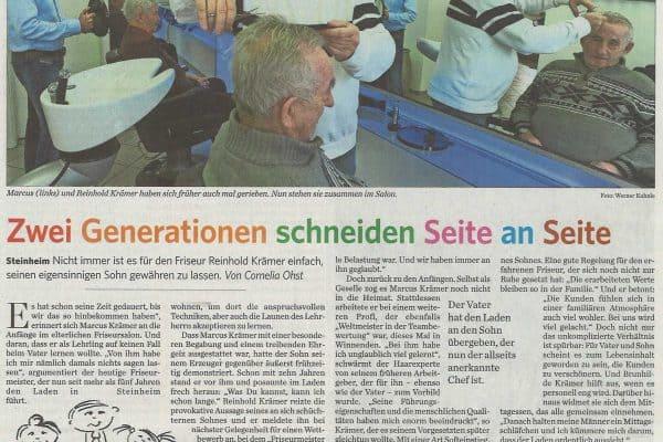 Generationen Seite an Seite