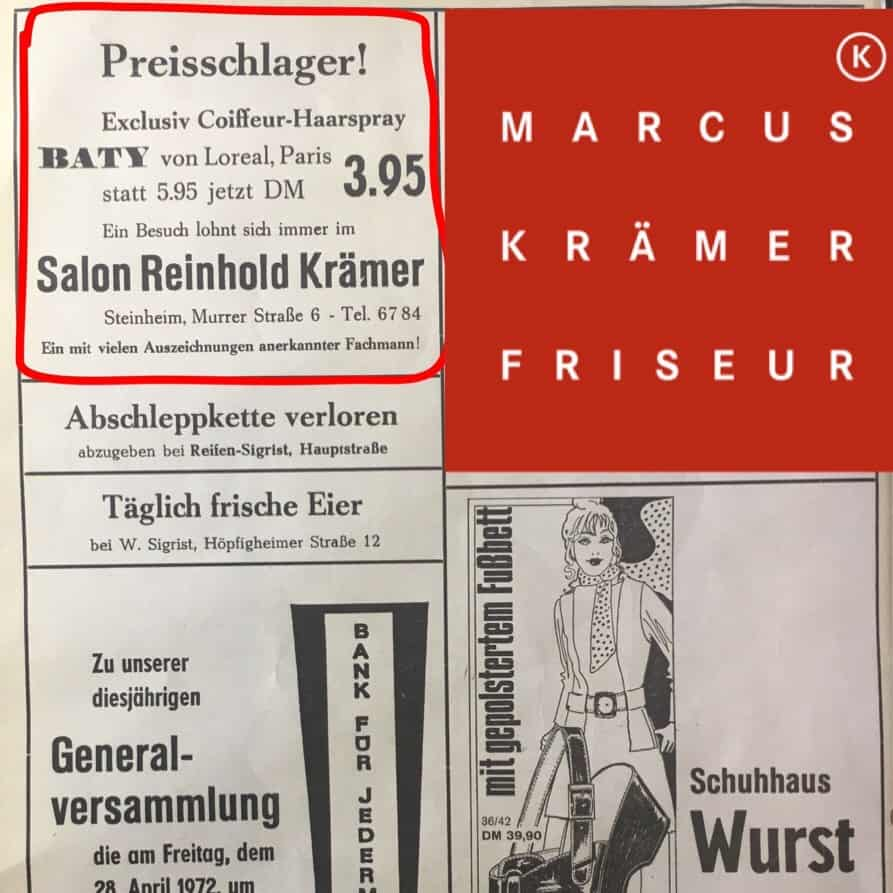 Werbung 1970!!