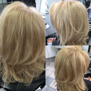 Foto | Frisur: blond welle